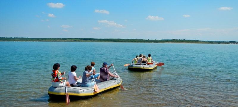 Schlauchboottour